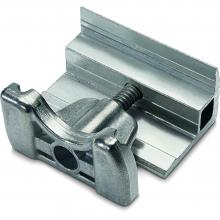 Klema końcowa 28-33mm, do szyny C, srebrna
